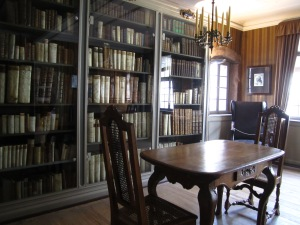 Goethe's reading room?