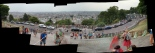 The view of Paris from on top the hill, where Montmartre resides. Click me!